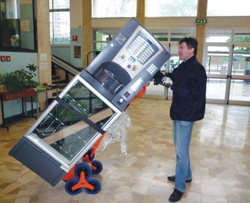 Il Carrello elettrico per Distributori Automatici